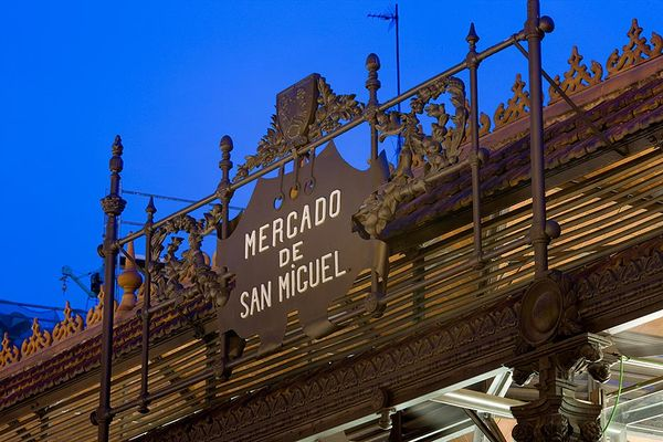 Travel Like James Mercado De San Miguel Madrid Spain