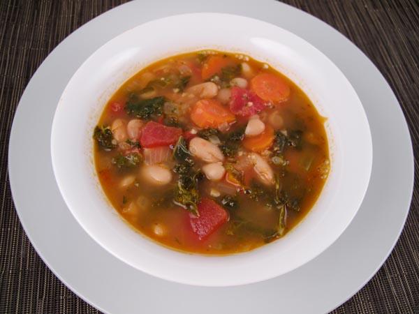 Easy Tuscan White Bean Soup La Ribollita Cook Like James