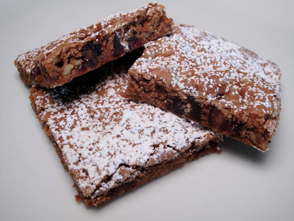 Homemade Moist And Chewy Date Nut Squares Cook Like James