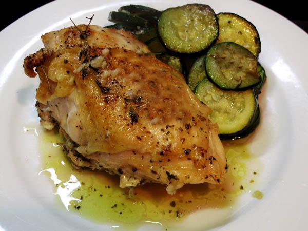 Quick Amp Easy Lemon Garlic Roast Chicken Cook Like James