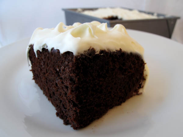 Grandma Moores Easy Chocolate Mayonnaise Cake