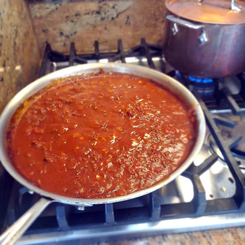Ina Garten Weeknight Bolognese Orchiette Pasta
