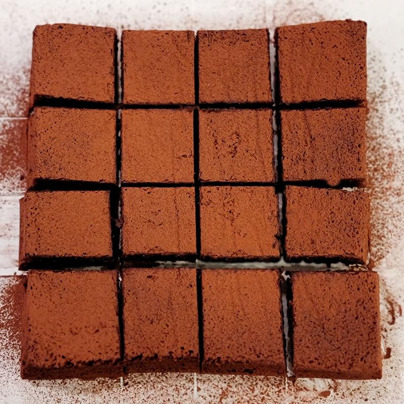 Italian Flourless Bittersweet Chocolate Cake - Torta Barozzi