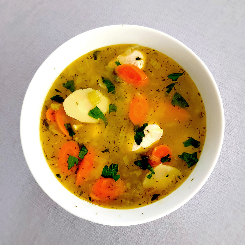 Fast Easy Delicious Chicken Vegetable Soup